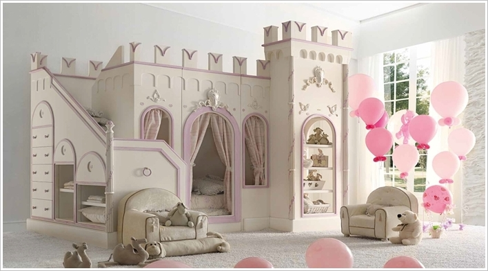 Amazing A Princess Castle Bed. 5 princess castle bedroom set