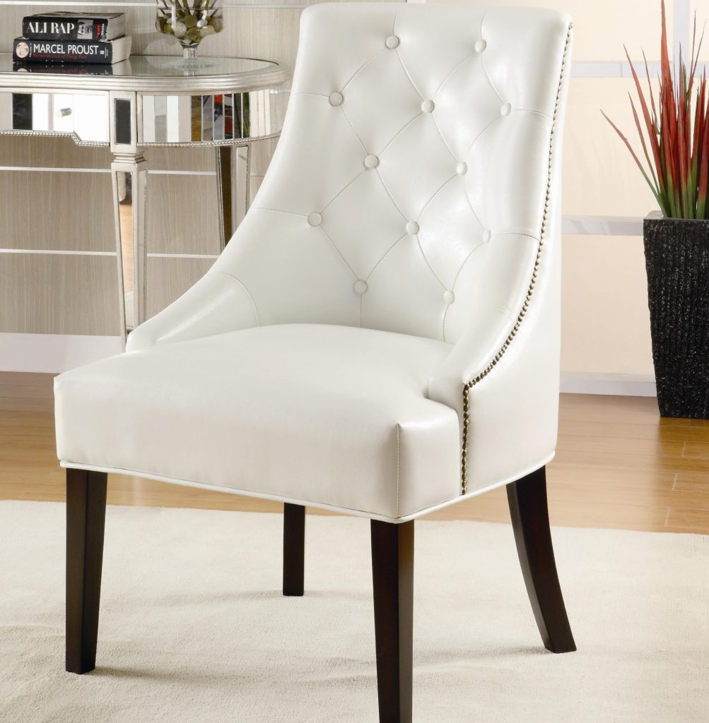 Amazing Accent Chair For Bedroom Accent Chair For Bedroom Coaster 900283  White Bonded Small Accent Chairs