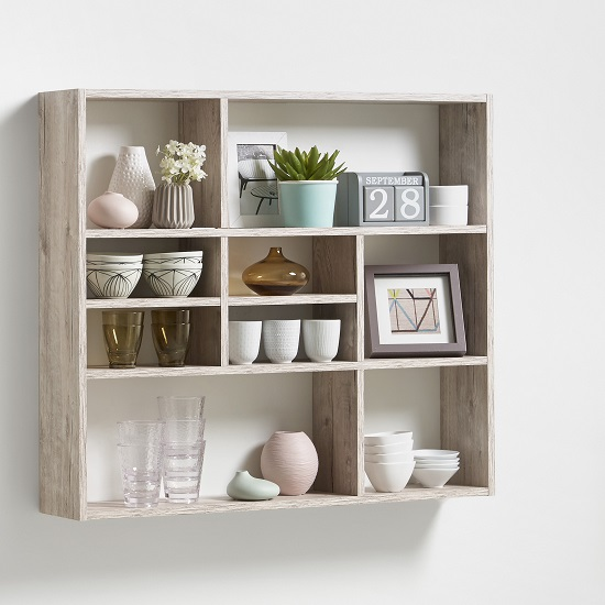 Wall Mounted Shelf Units Design Decoration