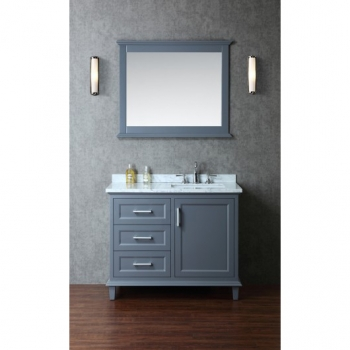 Amazing Ariel by Seacliff Nantucket 42 single sink bathroom vanity