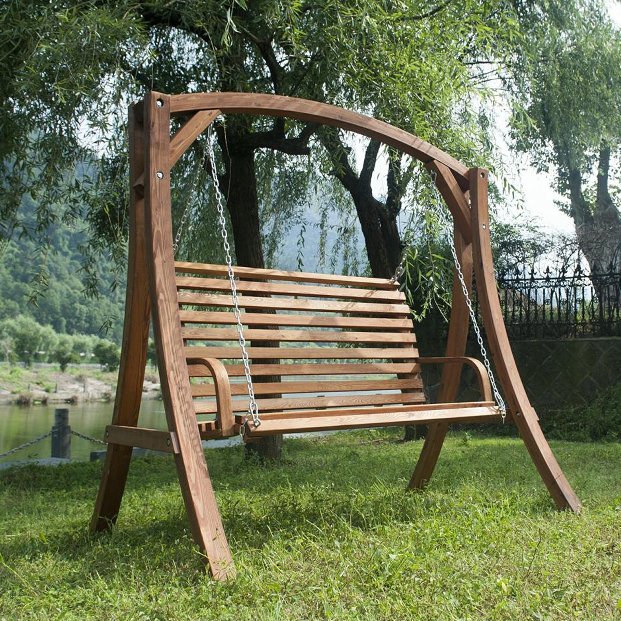 Amazing Awesome Wooden Garden Swings for Adults AID0I wooden garden swings for adults