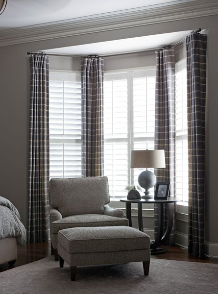 Select Curtains Wisely For Your Bay Window Curtains