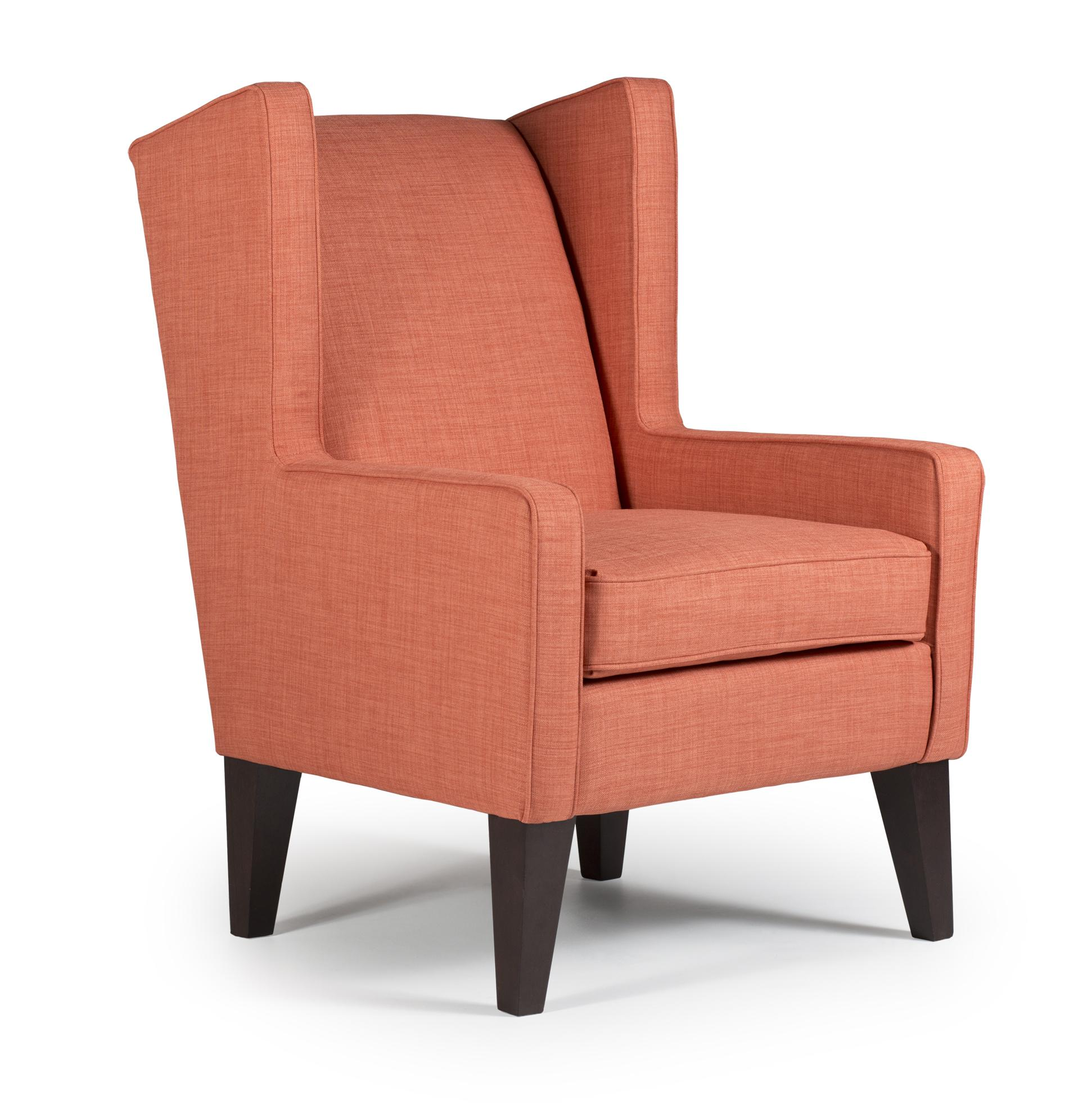 Amazing Best Home Furnishings Chairs - Wing Back Wing Chair - Item Number: modern wingback chair