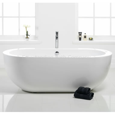 Amazing Bloomsbury Small Contemporary Freestanding Bath - 1690mm small freestanding baths