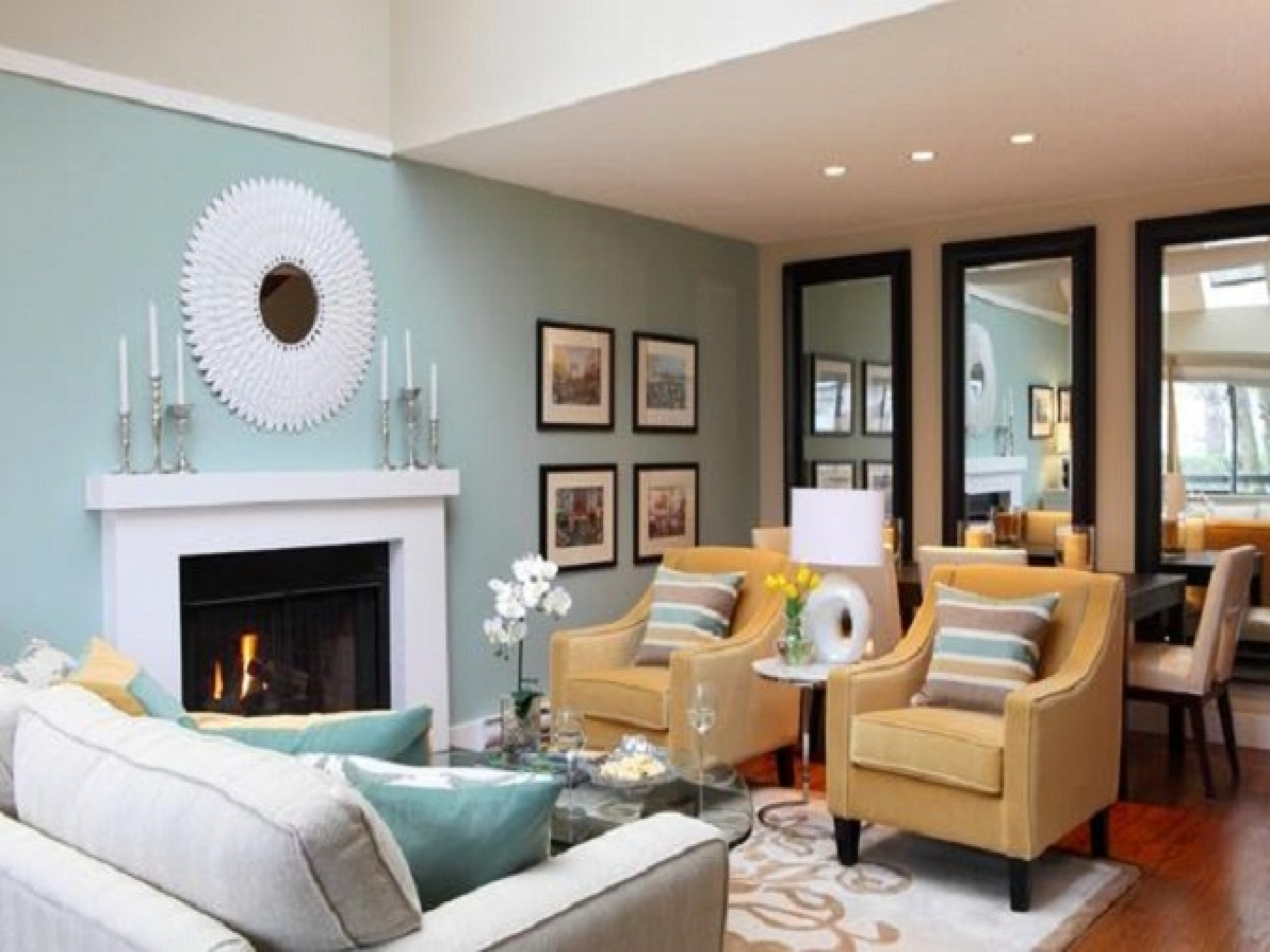 Amazing blue color schemes for living rooms | ... blue-living-room- blue living room color schemes