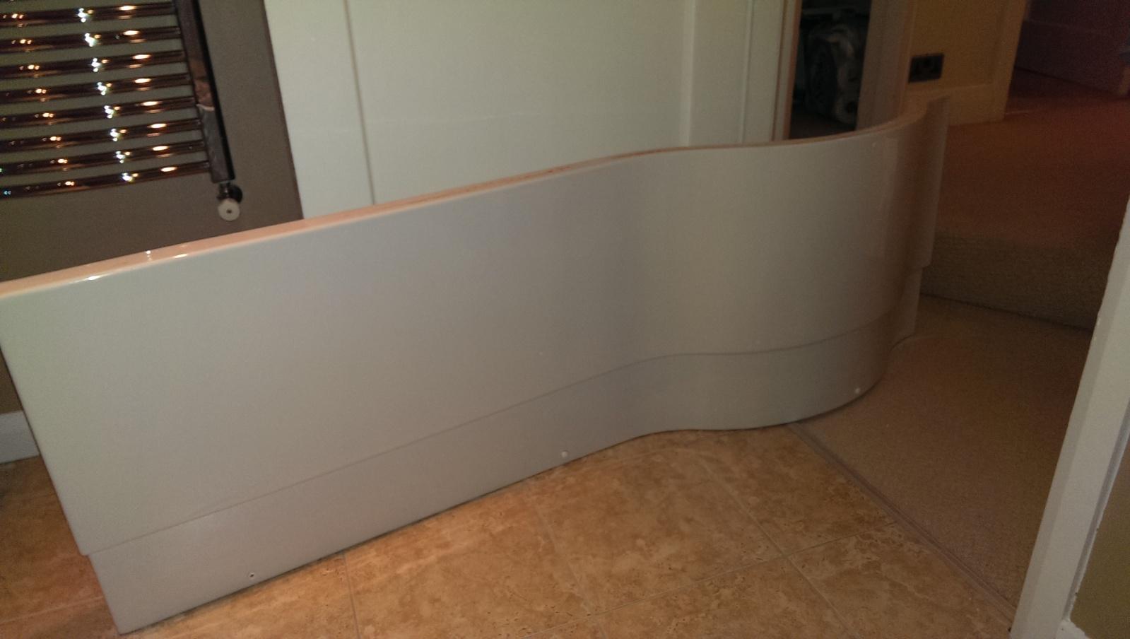 Amazing Can anyone help? p shaped bath panel