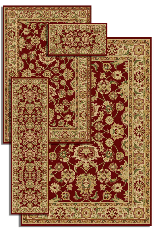 Amazing Central Oriental Gallery Collection - Made of 100% POLYP, T-5 Avg central oriental rugs