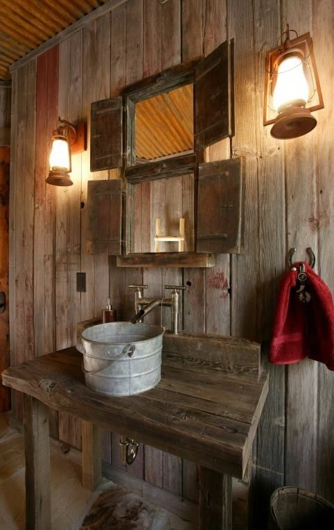 Amazing Cool Rustic Bathroom Designs rustic bathroom decor ideas