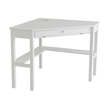 Amazing Corner Computer Desk - White white corner computer desk