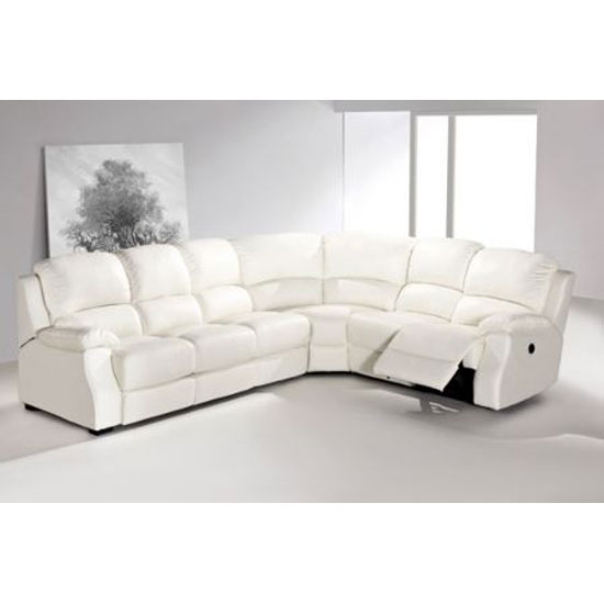 Amazing Cream Leather Sofa Beds Uk Best Ideas. Luxurious Corner Sofa In  White Color White
