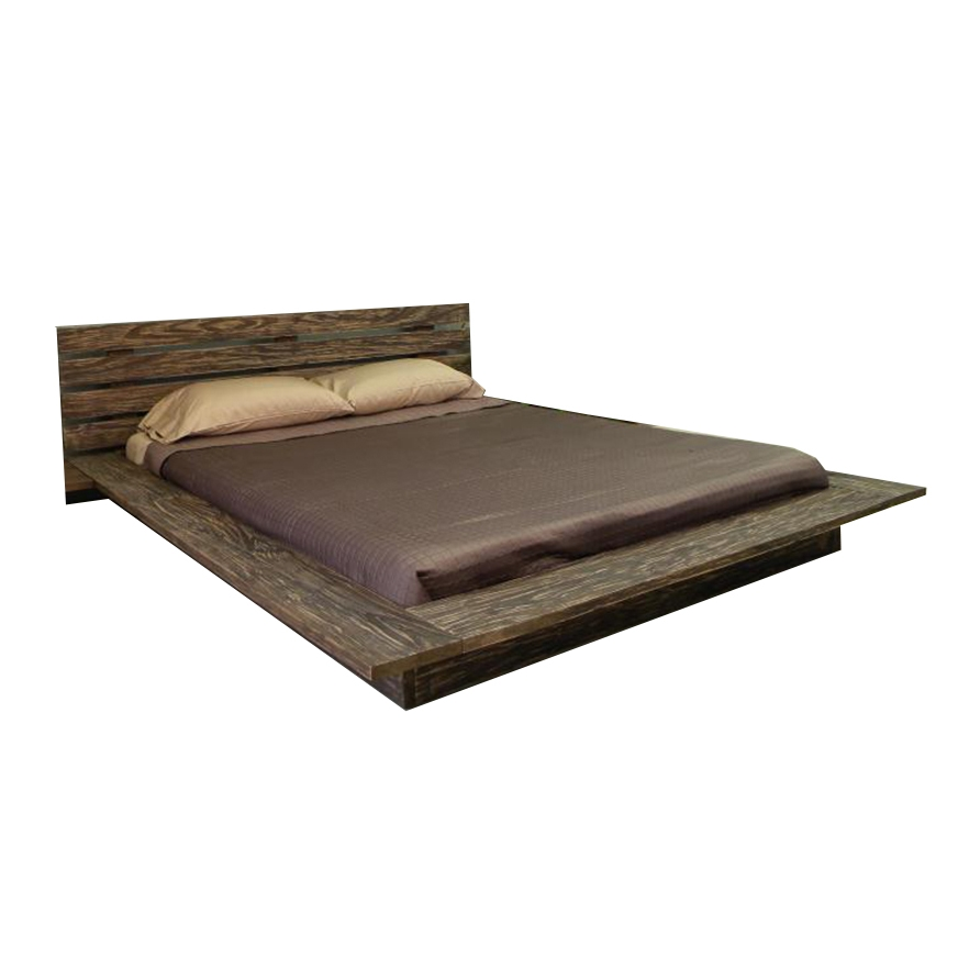 Low Height Queen Size Bed