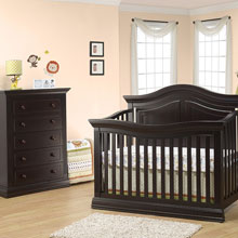 Amazing Espresso Nursery Sets baby nursery furniture sets