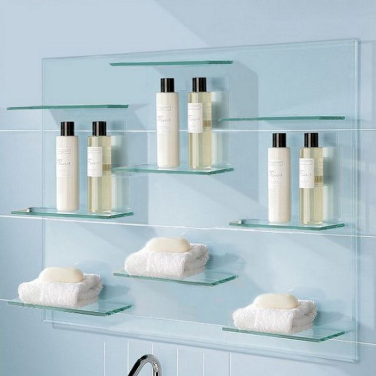 Amazing floating glass shelves for bathroom u2026 glass shelving for bathroom