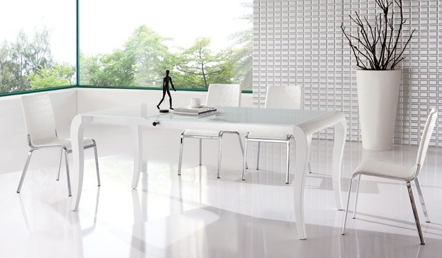 Amazing Furniture Endearing Modern White Kitchen Tables 4 Photos Of  Property 2017 White Contemporary Dining Room Contemporary Dining Room Sets  Something ...