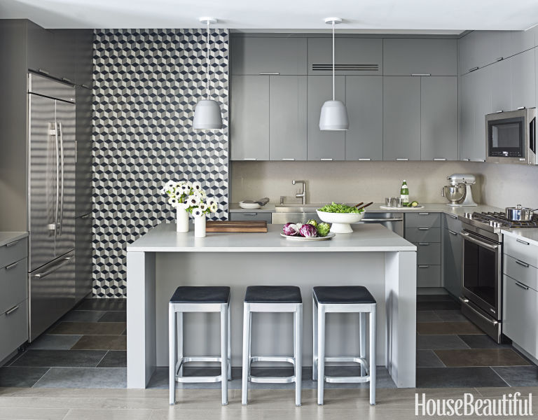 Amazing Gray Kitchen Ideas - Kitchen of the Month April 2016 april kitchen ideas