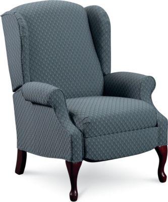 Amazing Hampton High-Leg Recliner wing back chair recliner