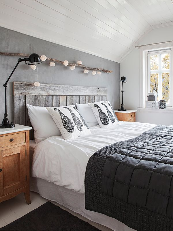 Amazing How to add warmth and softness to a monochrome bedroom black gray and white bedrooms