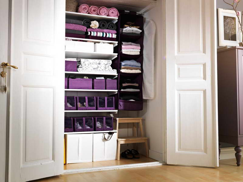 Amazing Image of: Functional Closet Storage Solutions closet storage solutions