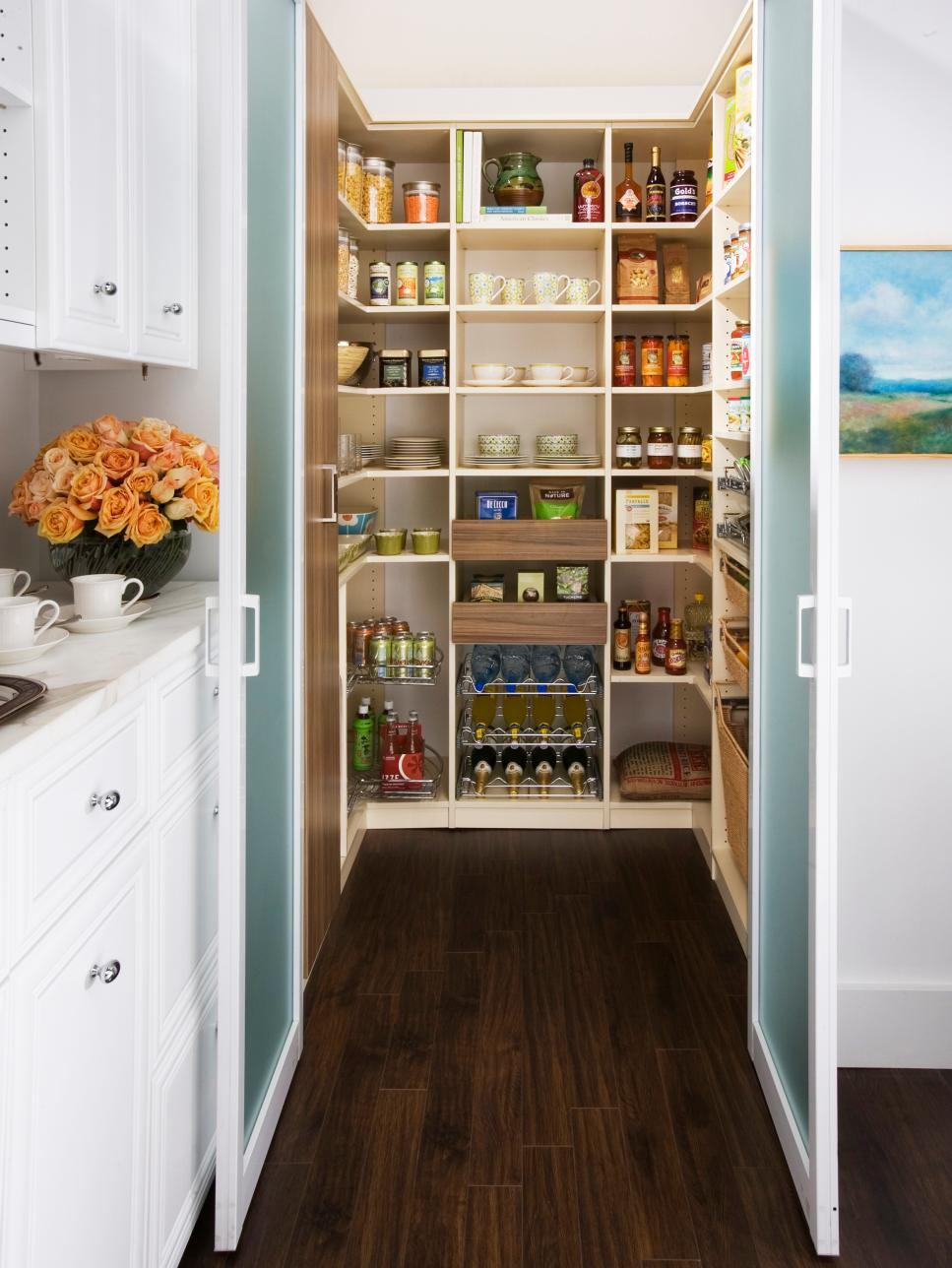 Amazing Kitchen Storage Ideas | HGTV kitchen cabinet shelving ideas