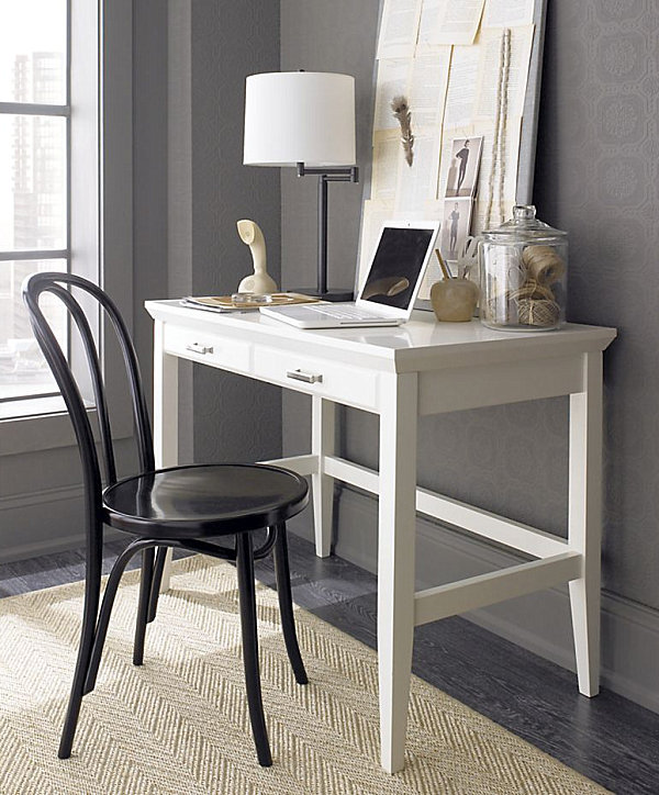 Amazing Lacquer Desks small office desks for home