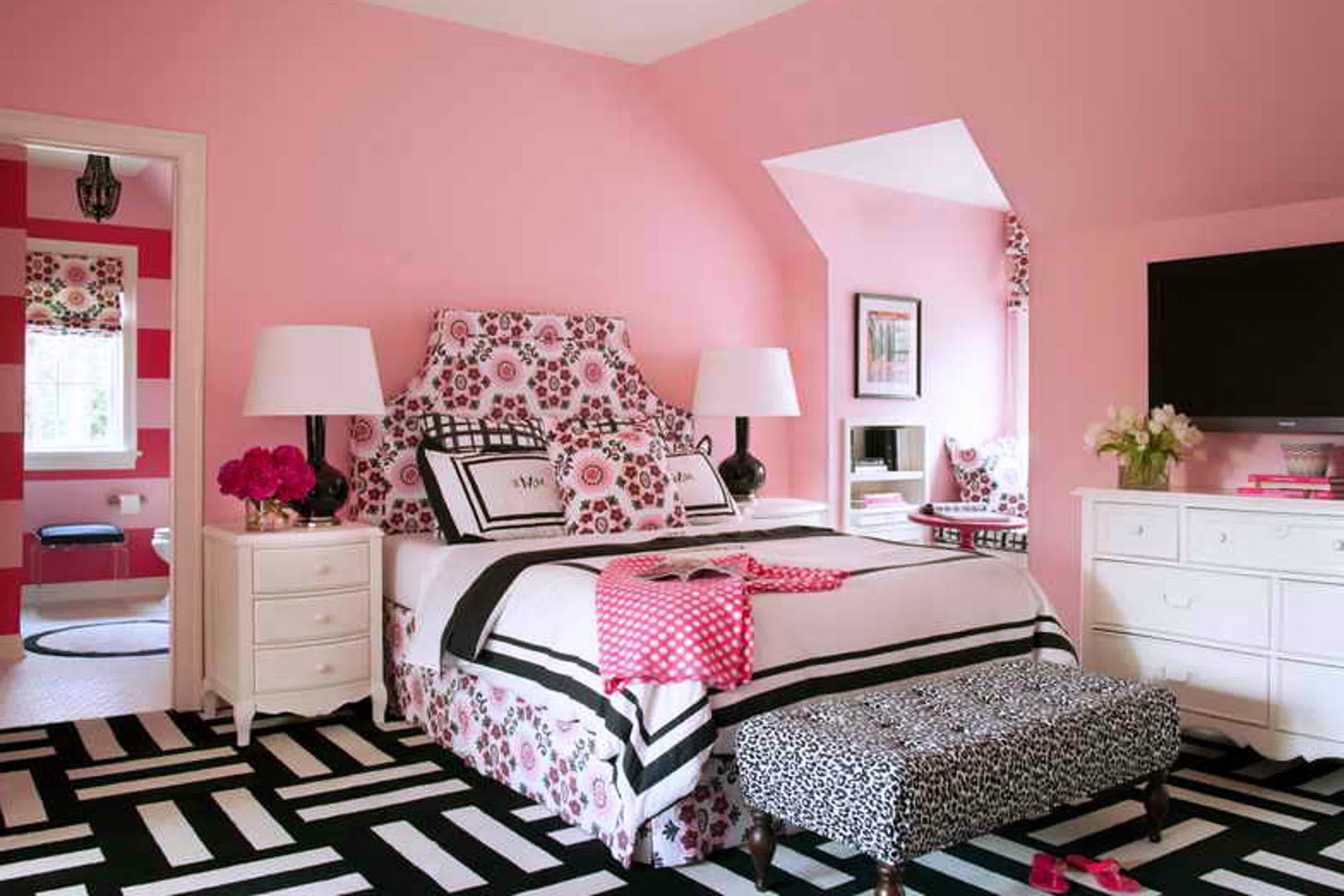 Amazing ... Luxury Cute Teenage Girl Bedroom Ideas in Home Remodel Ideas With Cute cute teen girl bedrooms