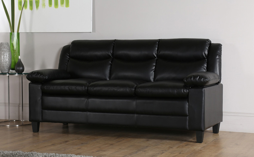 amazing seat lounge modern simple fabric couch small living room ce | 3 Seater Sofa Leather 3 Seat Leather Sofas Troop118 Us ...