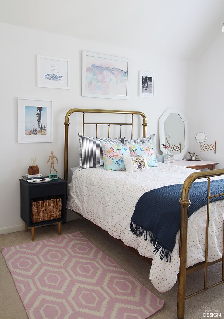 Amazing Modern vintage teen bedroom full of DiYu0027s and cool thrifted finds. You have modern teen bedrooms