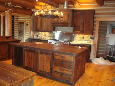 Amazing rustic kitchen cabinets rustic wood kitchen cabinets