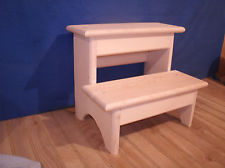 Amazing Rustic wooden step stool, 2 step wooden step stool 12 wooden step stool