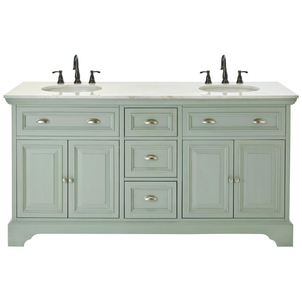 Amazing Sadie 67 in. Double Vanity ... double sink bathroom vanity