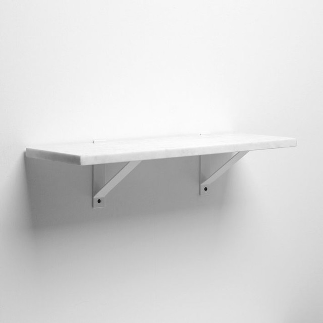 Amazing Shelf + White Basic Brackets Traditional Display And Wall Shelves white wall shelves with brackets