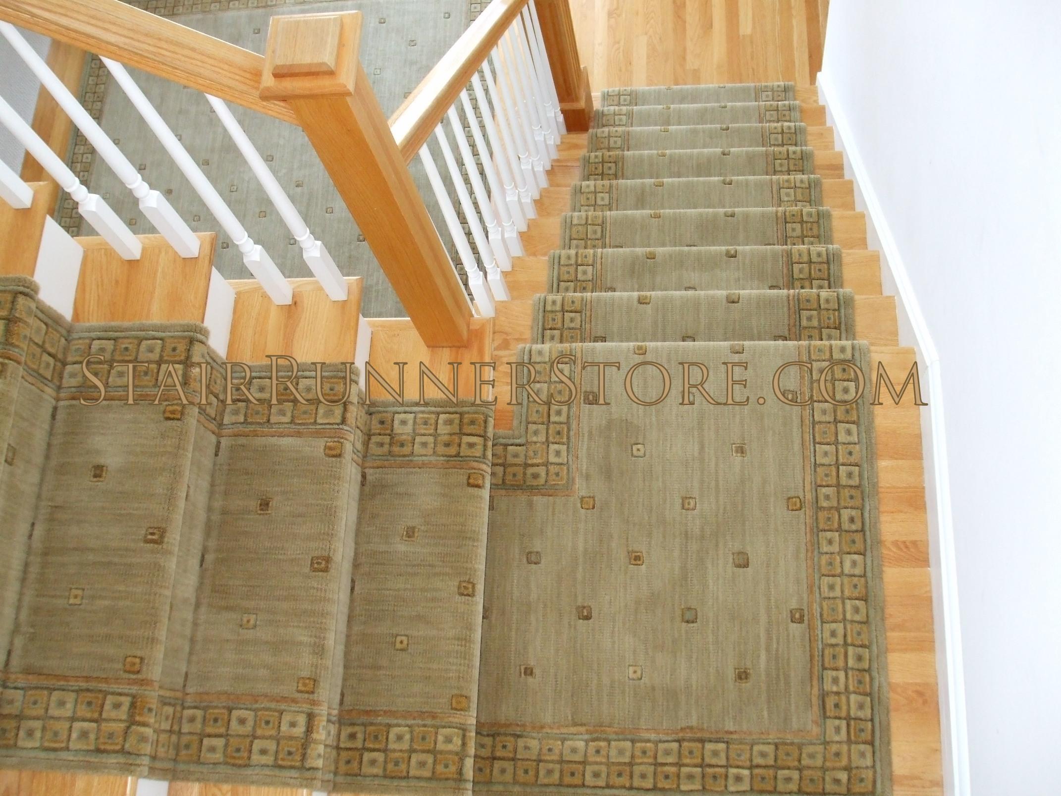 Amazing Single Landings.  carpet stair runners