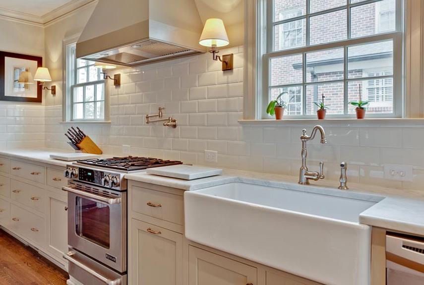 Amazing Subway Tile Backsplash country kitchen backsplash designs
