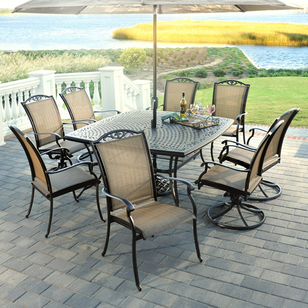 Amazing Treat Yourself to a New Patio Dining Set This Year from Agio Select agio outdoor patio furniture