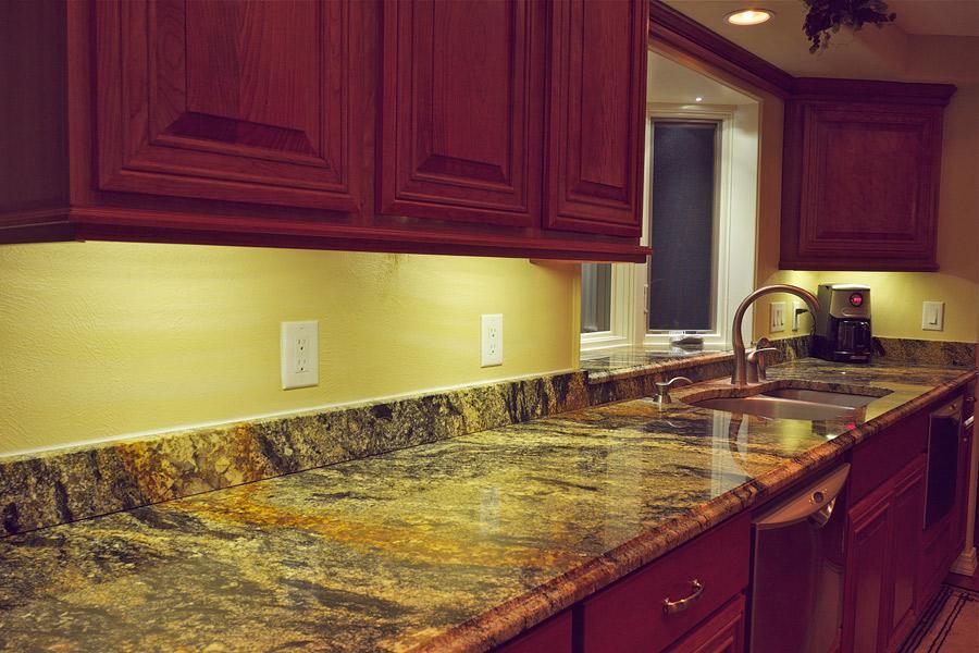 Beautiful Under Countertop Lighting. Amazing Under Cabinet Kitchen Lighting   Led Kit  Countertop W
