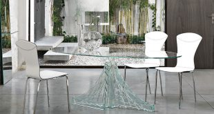 Amazing Unique glass dining table glass dining room sets