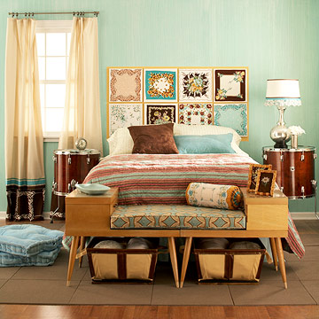 Amazing vintage bedrooms 11 decorating ideas u003c vintage bedroom decorating ideas
