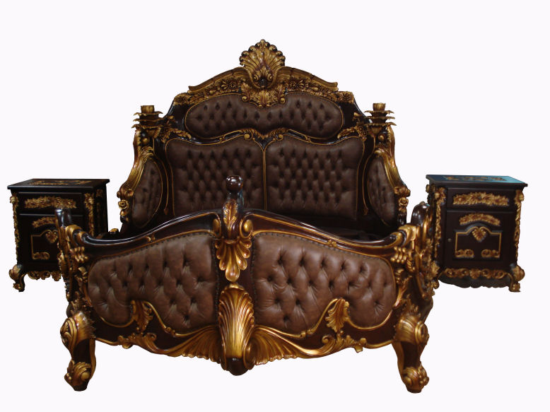 Amazing Wholesale Furniture - Custom Made Wood Furniture - Teak or Mahogany rococo bedroom furniture