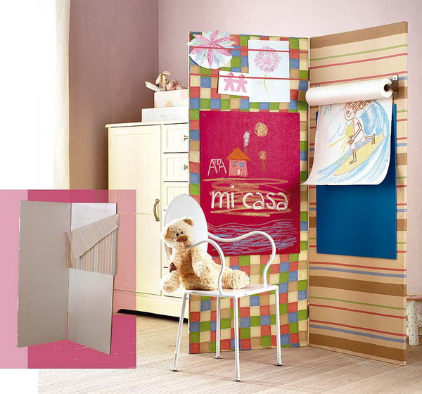 Amazing You can make so many cool and practical things from cardboard, you cool kids rooms decorating ideas