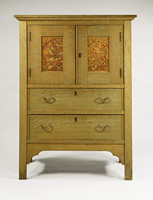 Pictures of Linen press arts and crafts movement furniture