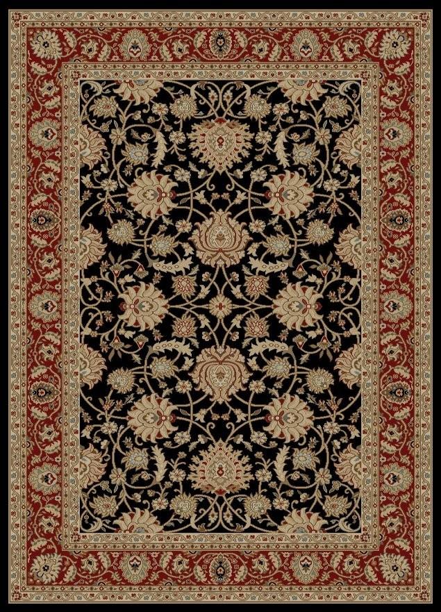 Awesome Ankara Mahal Black Traditional Oriental Rug traditional oriental rugs