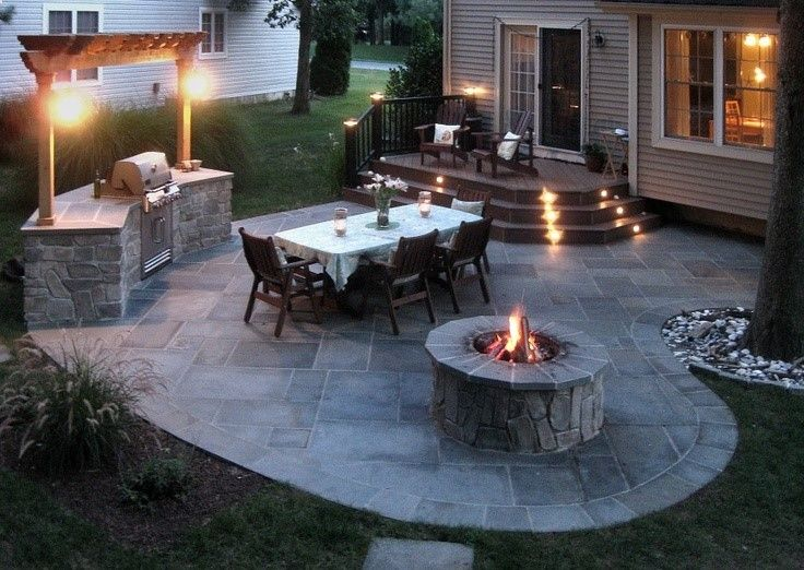 Beautiful would be an awesome back yard! Mike, you need a BBQ with awesome backyard patios