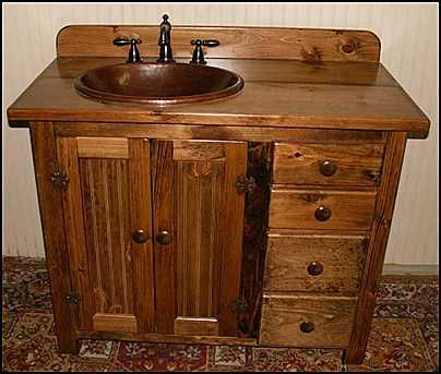 Awesome Bathroom Design Gallery on Country Style Wooden Bathroom Vanity Furniture  Design Tips country bathroom vanities