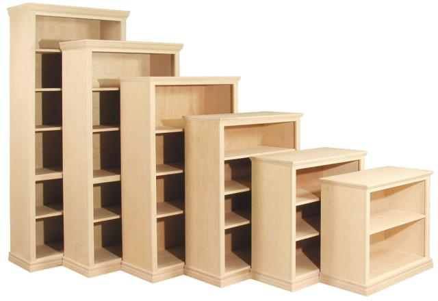 Awesome Bookshelves Solid Wood Zamp Co Unfinished Bookcases