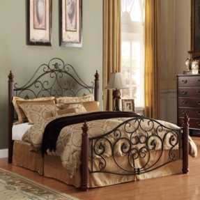 Bon King Size Metal Headboards
