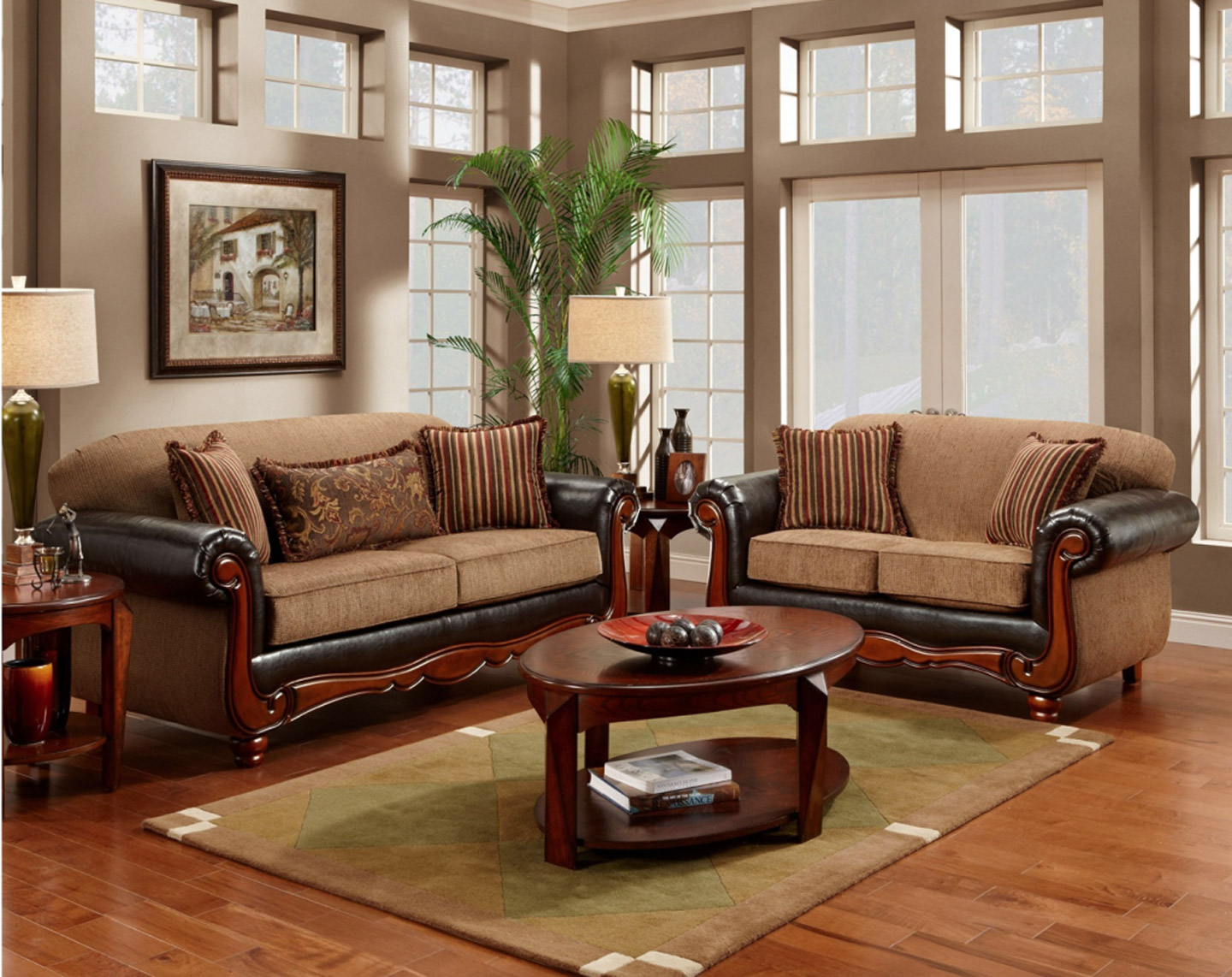 Awesome Delectable Living Room Furniture With Wood Trim Design Ideas With Natural Wood wooden sofa set designs for small living room