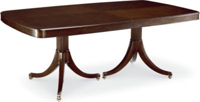 Awesome Double Pedestal Dining Table double pedestal dining table