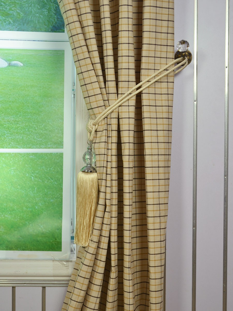 Awesome ... Extra Wide Hudson Small Plaid Double Pinch Pleat Curtains 100 Inch extra wide pinch pleat drapes