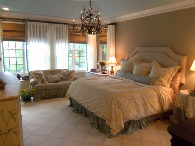 Awesome French Shabby Chic Master Bedroom traditional-bedroom shabby chic master bedroom