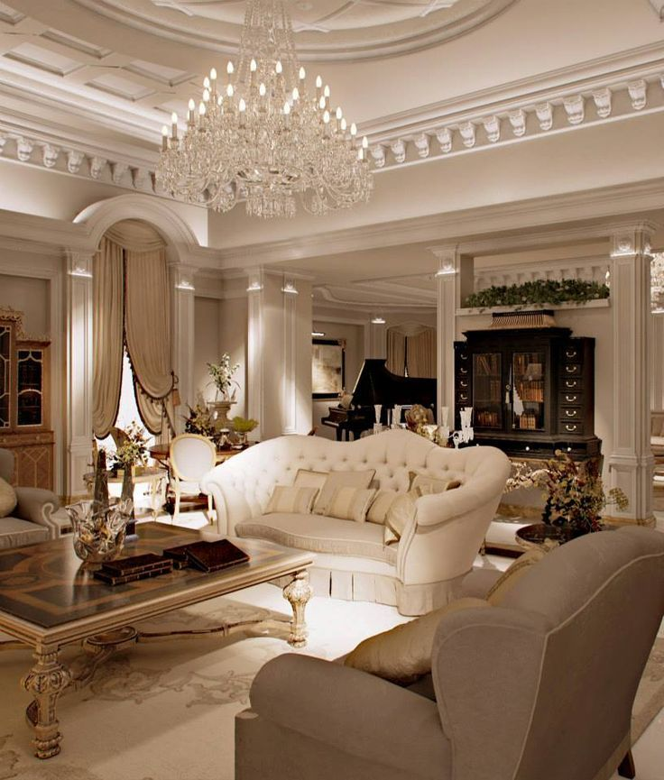 Elegant living rooms help in enhancing the quality of life ...